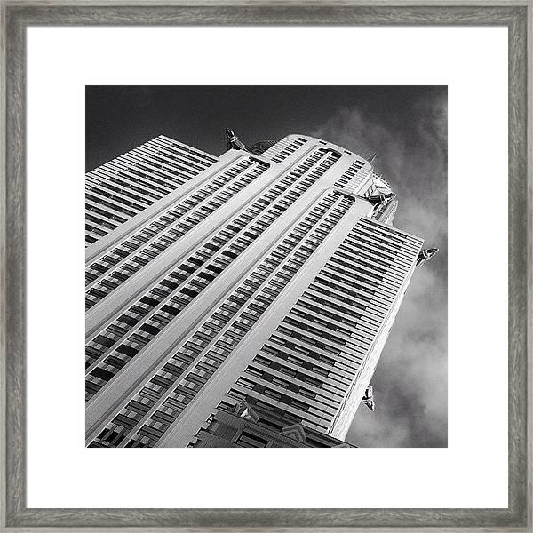 The Chrysler Building Ny  Framed Print