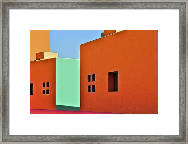 the Colors of Mexico Framed Print