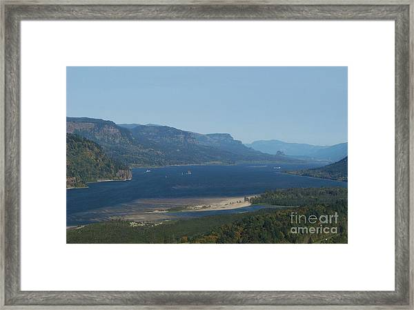 The Columbia River Gorge Framed Print