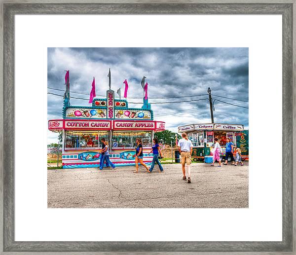 The County Fair Framed Print