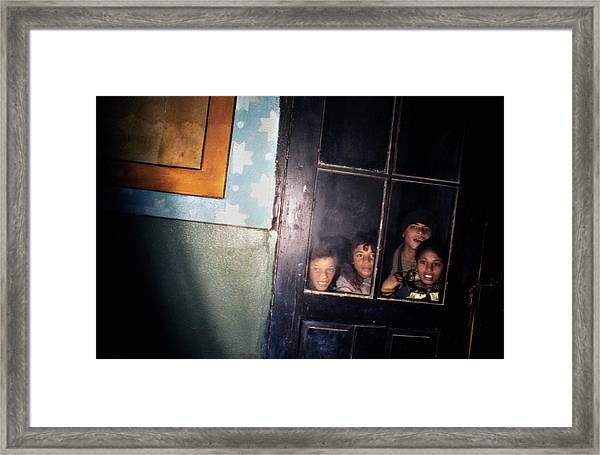 The Door That Never Opens Framed Print