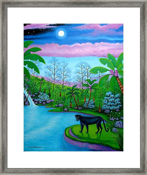The Emerald Jungle Framed Print