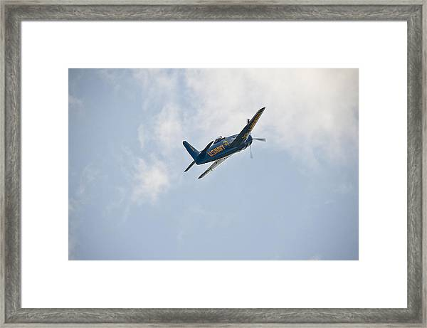 The First Blue Angel Framed Print