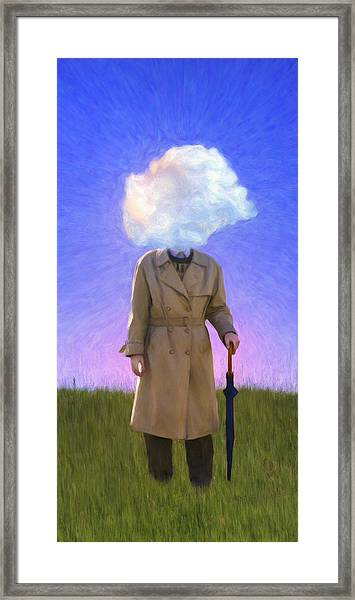 The Fool On The Hill Framed Print