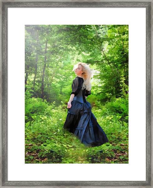 The Forest Beckons Framed Print