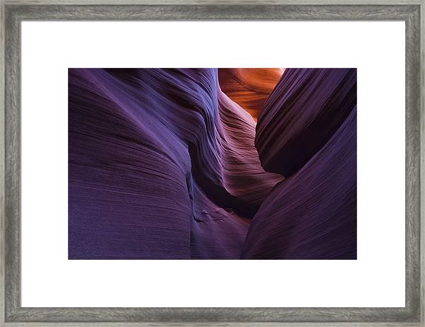 The Gap Framed Print