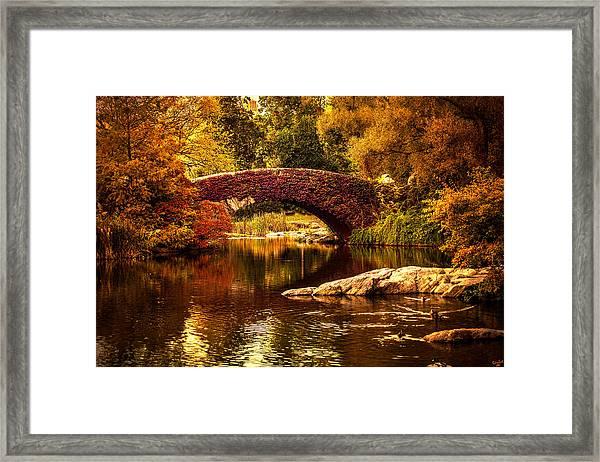The Gapstow Bridge Framed Print