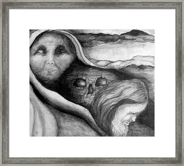 The Great Lie Framed Print