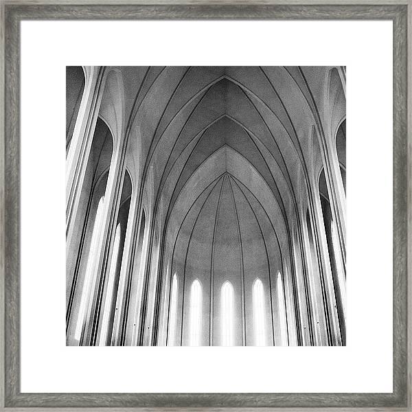 The Halls Of Valhalla Framed Print