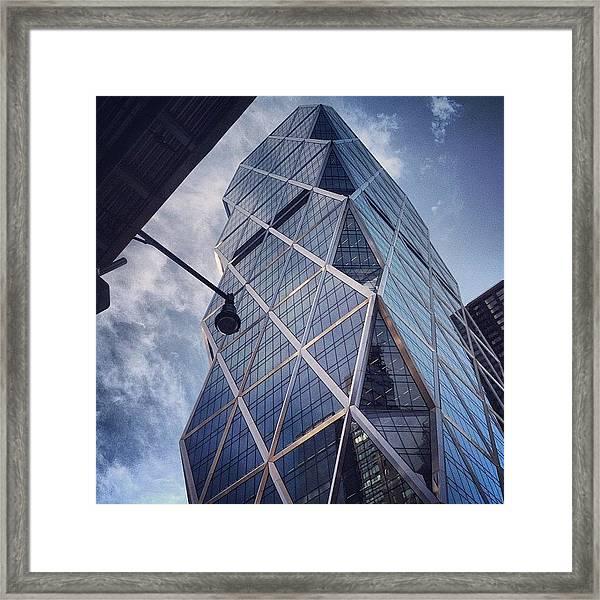The Hearst Building Framed Print