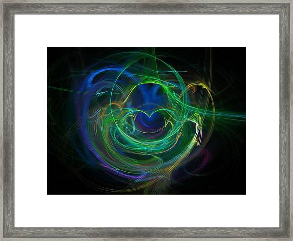 The Heart's Desire Framed Print