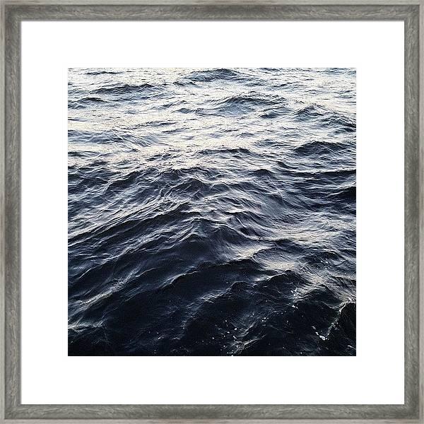 The Hudson Framed Print