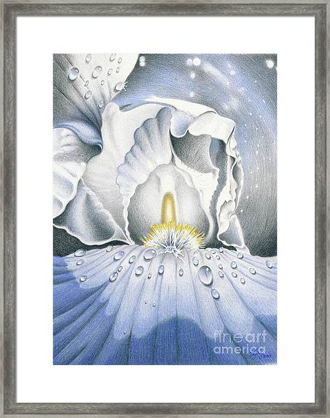 The Iris Universe Framed Print