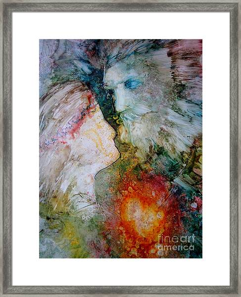 The King's Heart Framed Print