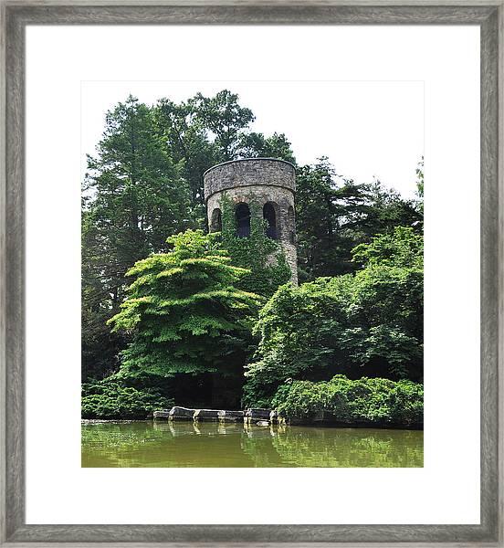 The Longwood Gardens Castle Framed Print