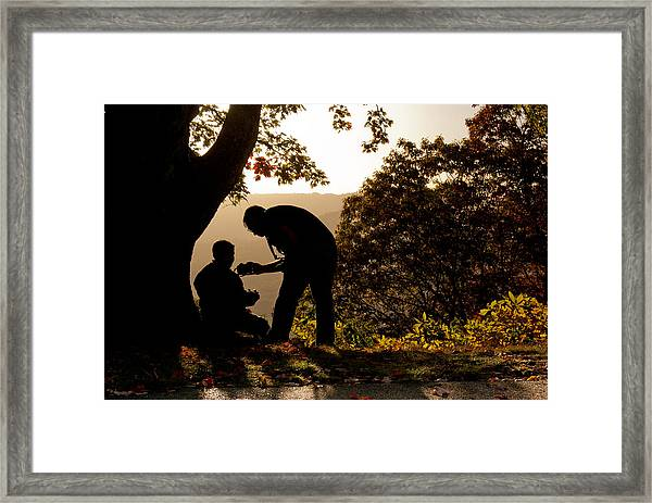 Framed Print featuring the photograph The Mentor by Francis Trudeau