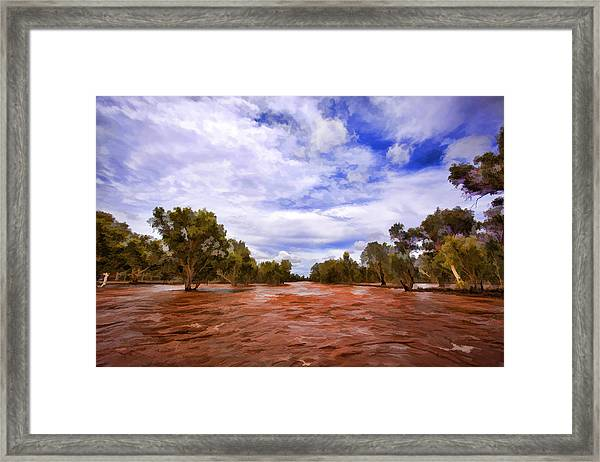 The Mighty Todd Framed Print