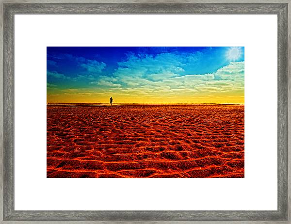 The Mirage Framed Print by Donna Pagakis