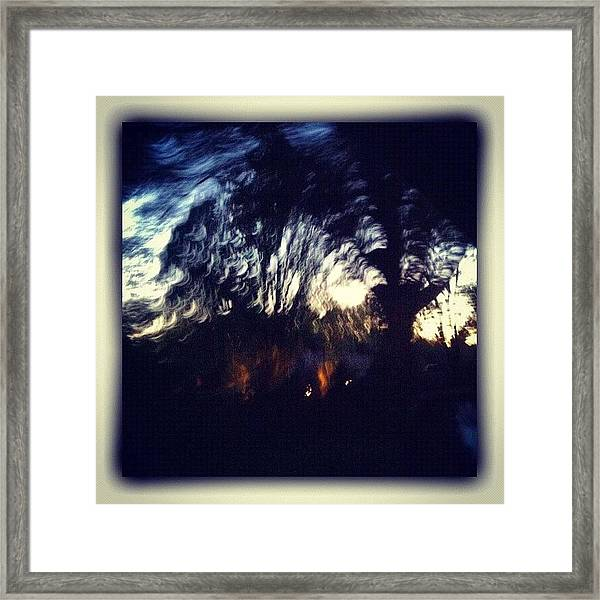 The Mistake.. Sometimes There Is Framed Print