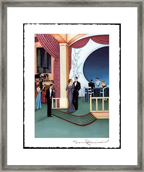 The Nine O'clock Club Framed Print