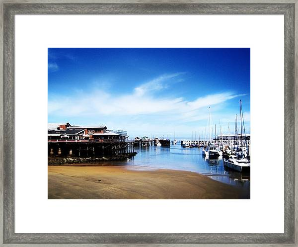 The Old Fisherman's Warf Framed Print
