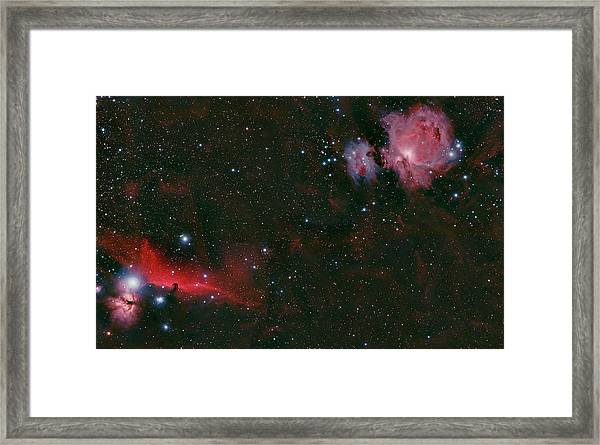 The Orion Complex Framed Print