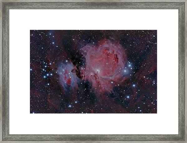 The Orion Nebula M42 Framed Print