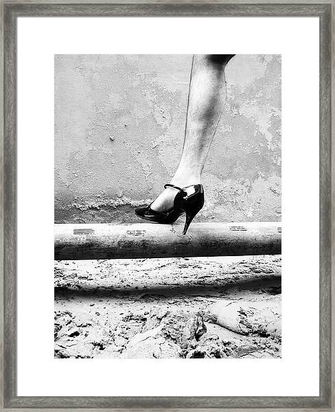 The Other Shoe 1 Framed Print