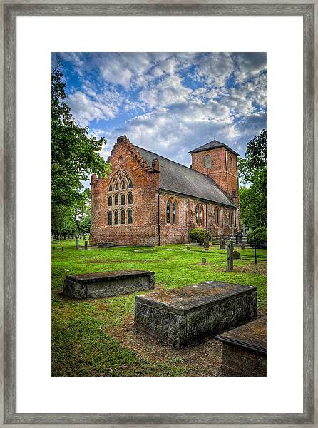 The Other Side Of St Lukes Framed Print by Williams-Cairns Photography LLC
