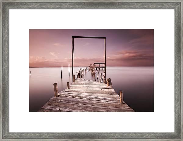 The Passage To Brightness Framed Print