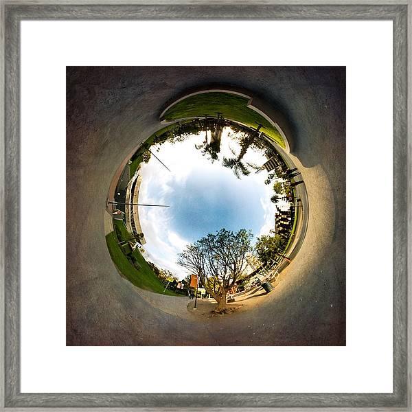 The Rabbit Hole Framed Print