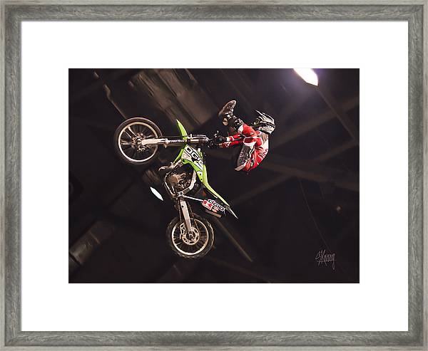 The Roof And Beyond Framed Print