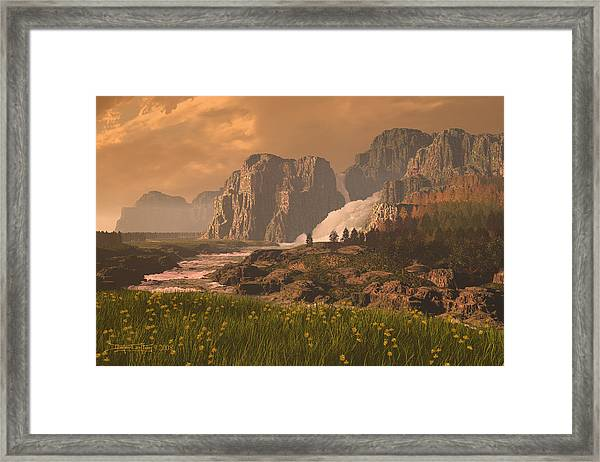 The Seventh Day Framed Print