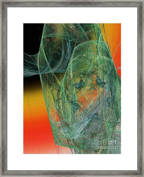 The Shawl Framed Print