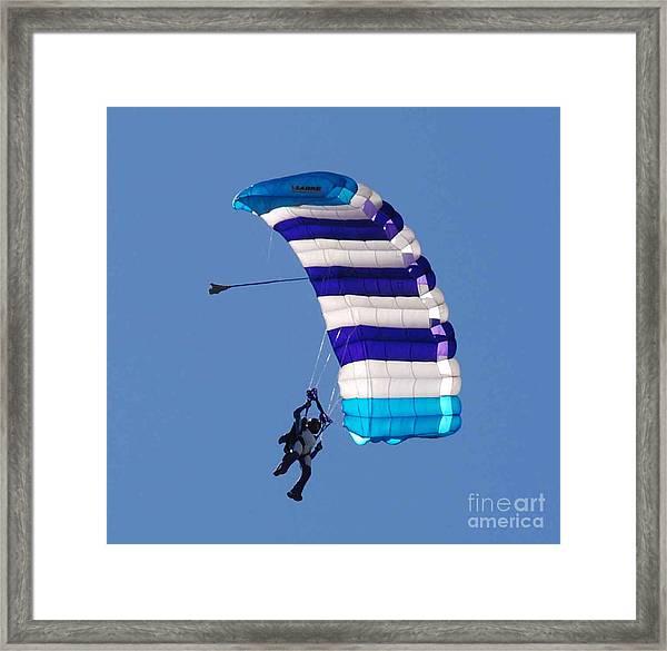 The Skydiver Framed Print