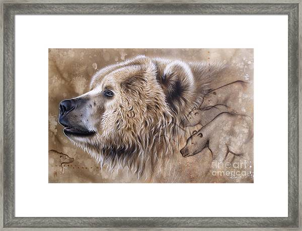 The Source V  Framed Print