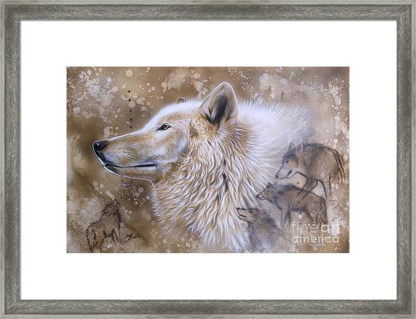 The Source Vi Framed Print