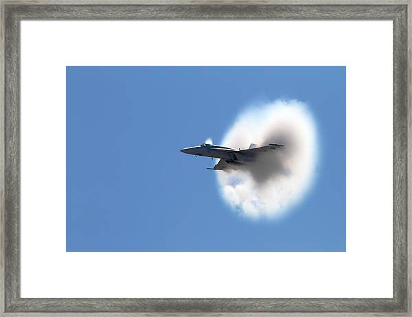 The Speed Of Wow Framed Print