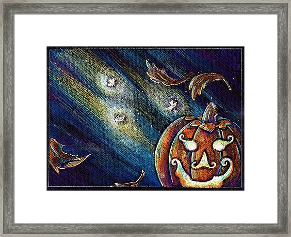 The Spirit Of Halloween Framed Print