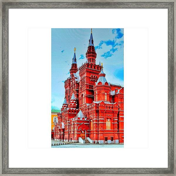 The State Historical Museum (russian: Framed Print