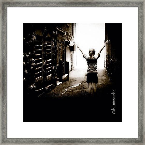 The Strength Within Framed Print