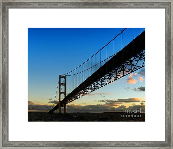 The Stretch Framed Print