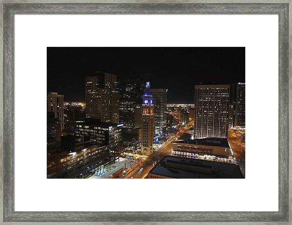 The Tower Framed Print by Kirk  Montgomery
