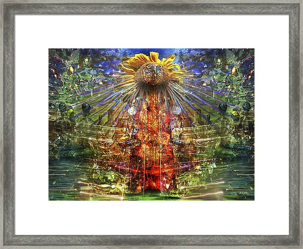 The Tower Of The Sun Framed Print