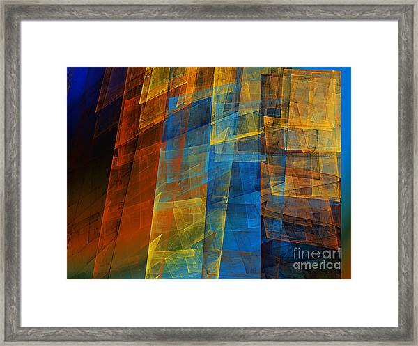 The Towers 2 Framed Print