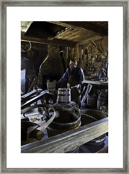 The Way It Used To Be Framed Print