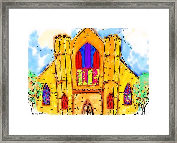 The Wedding Chapel Framed Print