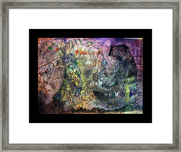The World Of Critters Framed Print
