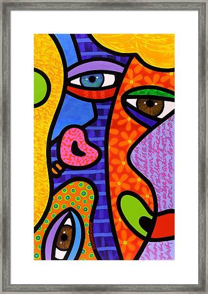 Third Eye Rising Framed Print