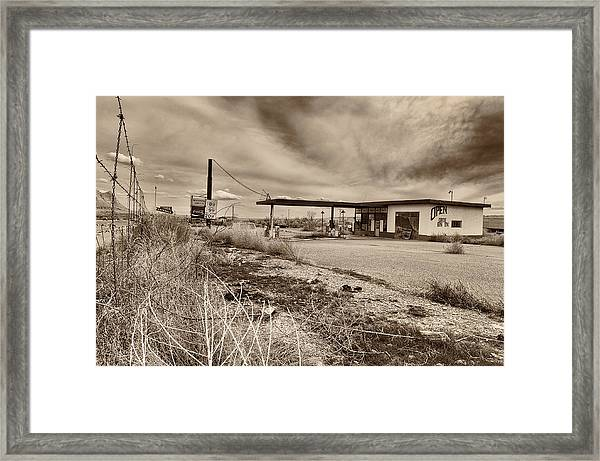 This Is Utah No. 27 - Closed For Good Framed Print